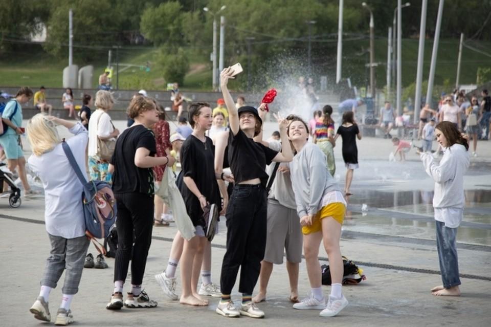 В Пермский край жара придет на один день.