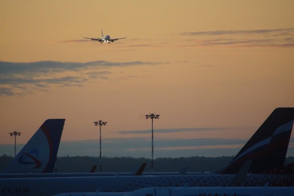 Экипаж воздушного судна принял решение сесть в аэропорту Новосибирска