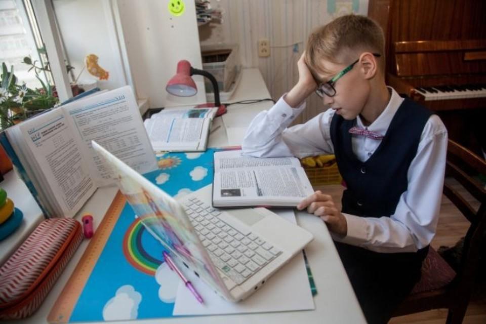 Благодаря подарку дети могли полноценно учиться на дистанте.