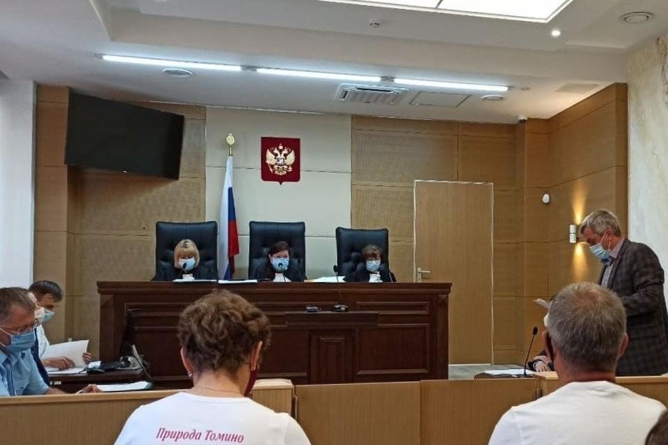 В седьмом кассационном суде прошло заседание по челябинскому бору