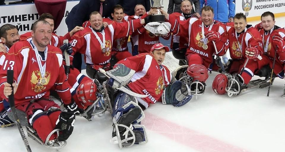 Югорские спортсмены примут участие в Кубке Континента по следж-хоккею Фото: СХК «Югра»