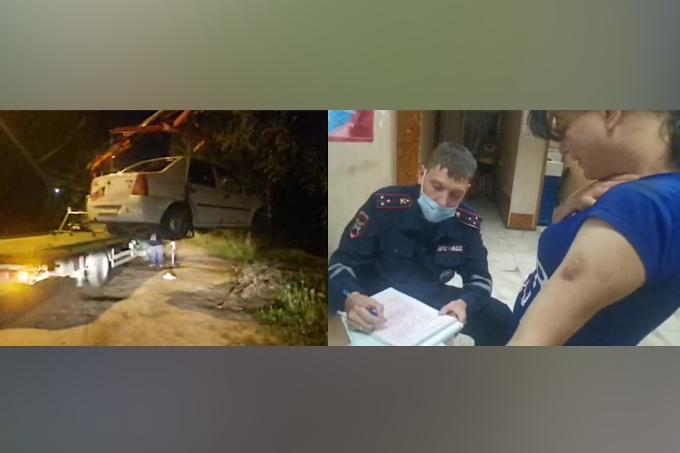 В Твери нетрезвая женщина везла на машине грудного ребёнка. Фото: пресс-служба ГИБДД по Тверской области.