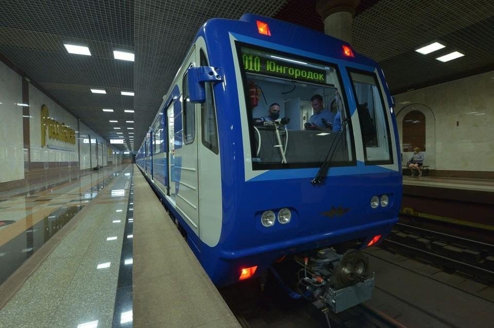 В самарском метро появился новый вагон