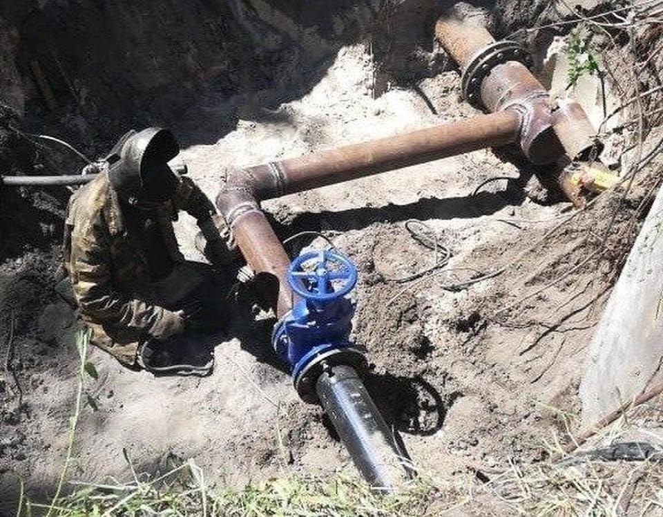 Авария на водопроводже оставила без воды в Саратове более 12 тысяч человек