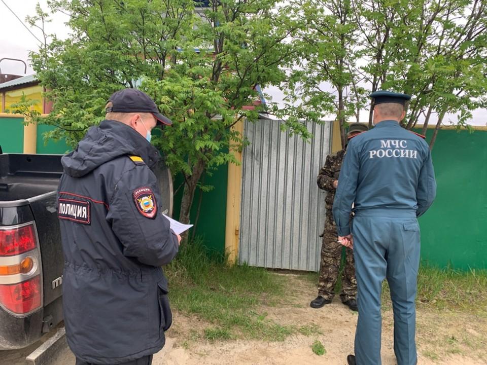В Белоярском районе дачникам объясняют правила безопасности в пожароопасный период. Фото: УМВД по ХМАО-Югре