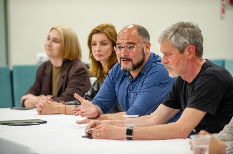 Встреча нового и.о. мэра Владивостока с журналистами