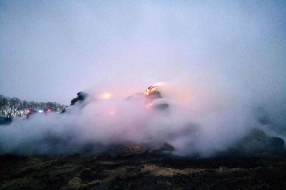 Пятиклассник, балуясь с огнем, спалил 40 тонн сена в Иркутской области