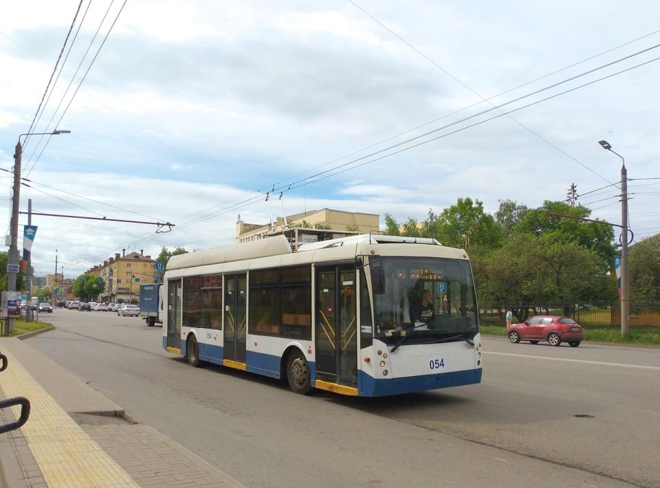Новый троллейбус из Москвы вышел в рейс в Смоленске. Фото: паблик «Смоленский транспорт» ВКонтакте.