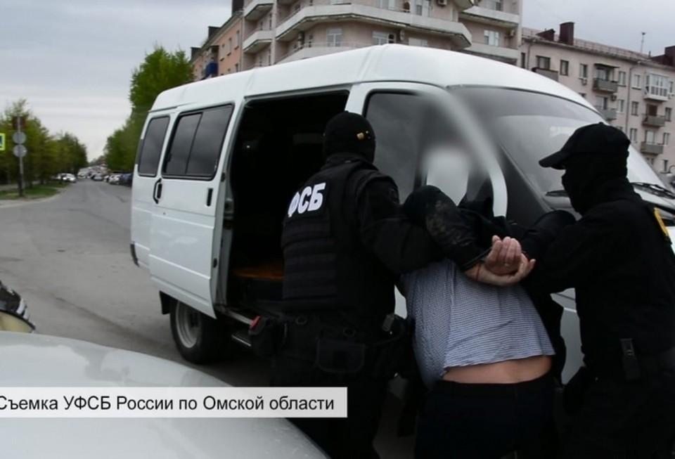 Омича задержали во время передачи товара. Фото: пресс-служба УФСБ России по Омской области