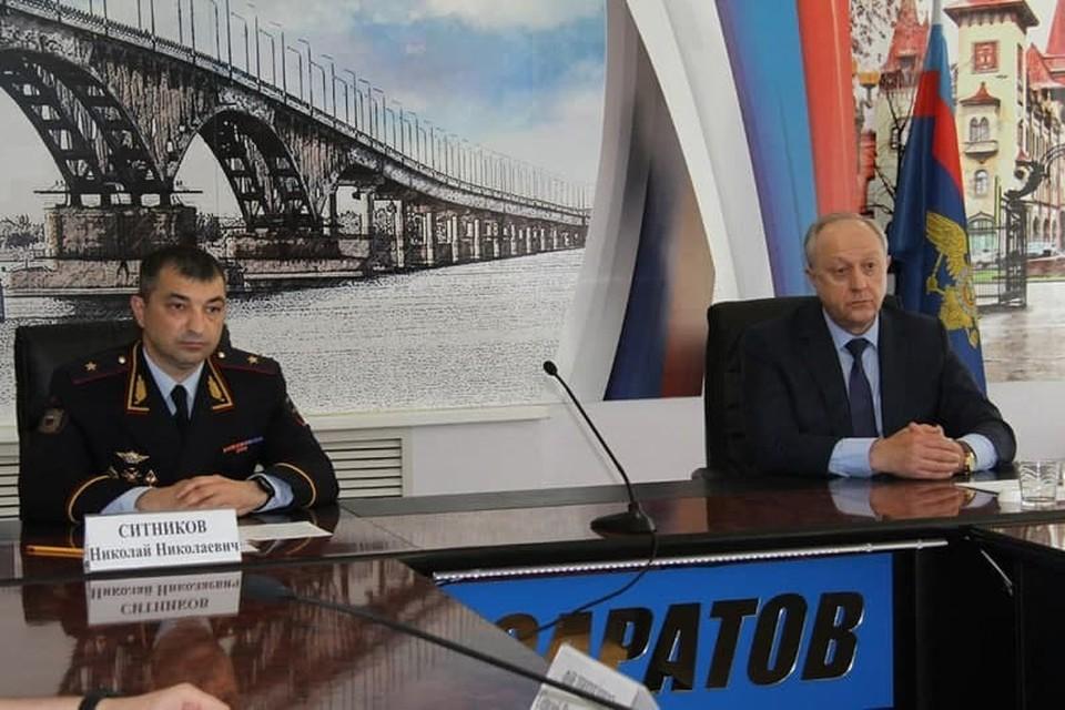 Николай Ситников и Валерий Радаев