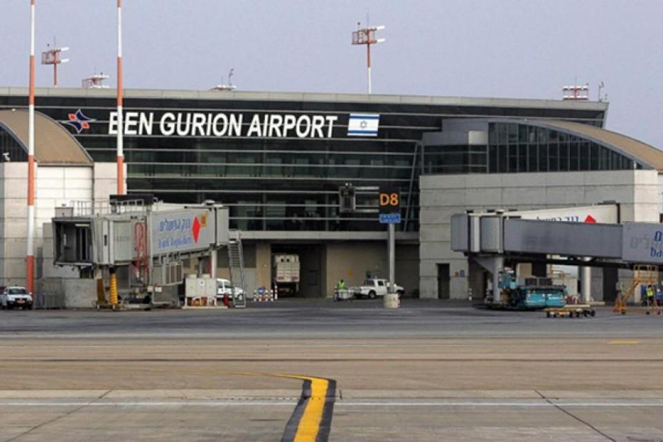 "Аэропорт ""Бен Гурион"" в Тель-Авиве."