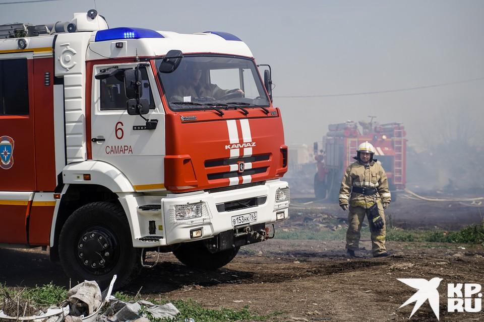 В лесах Самарской области произошло больше пожаров