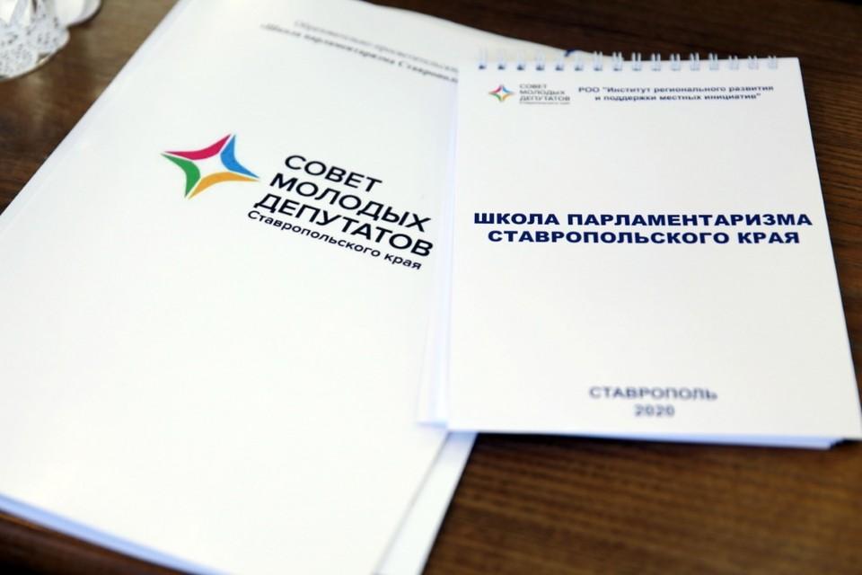 Совет молодых депутатов был создан в 2014 году при Думе Ставропольского края