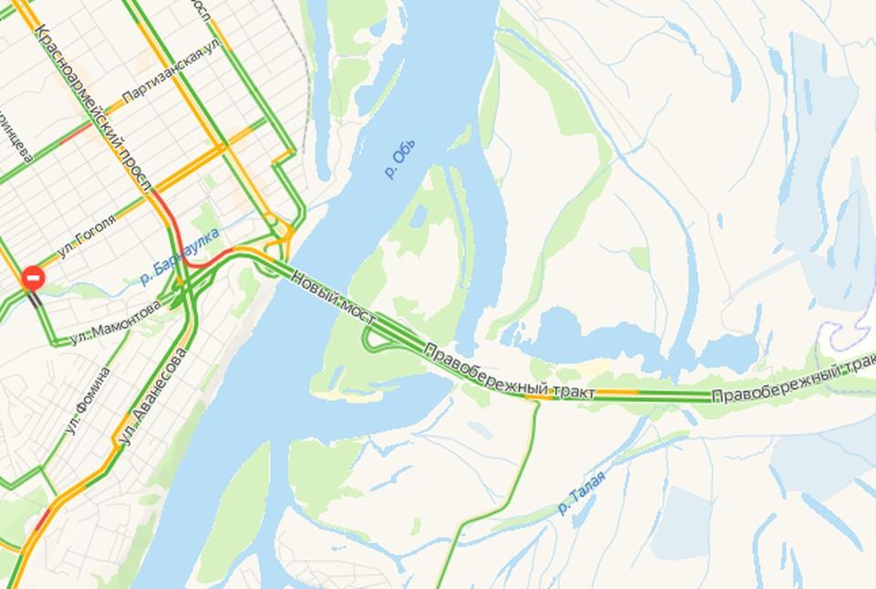 Данные на 11 часов. Скриншот yandex.ru/maps/