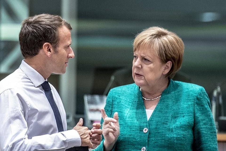 Берлин и Париж решительно осудили действия белорусских властей. Фото: euobserver