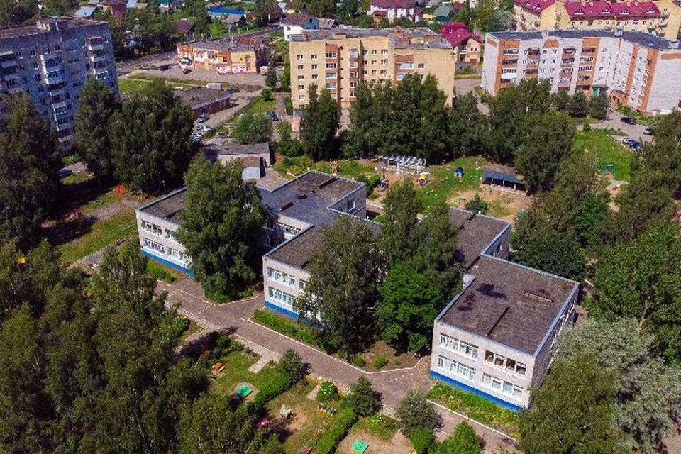 Детский сад расположен в активной части Ярославля (вид сверху). Фото: Алексей Смирнов