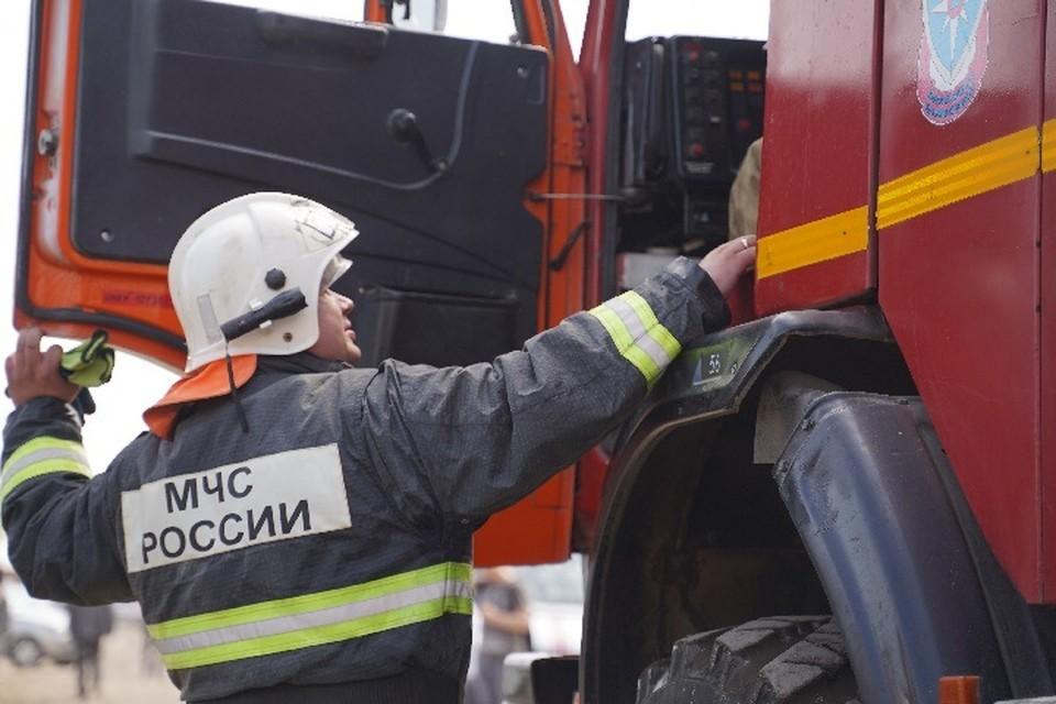 Предварительная причина возникновения пожара – неосторожное обращение с огнем