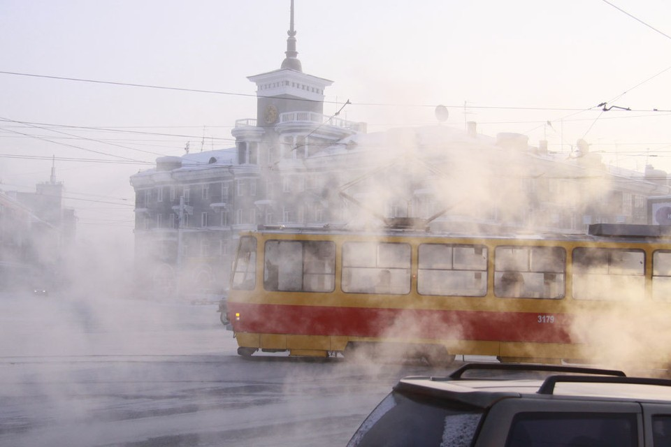 Барнаул ждет трамваев.