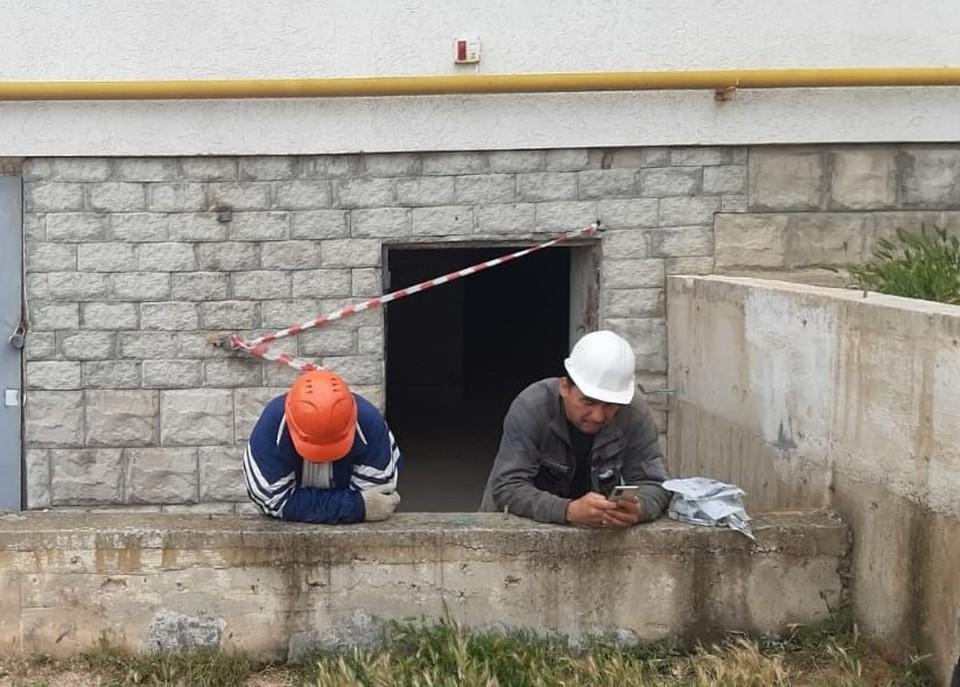 На днях вновь объявились строители
