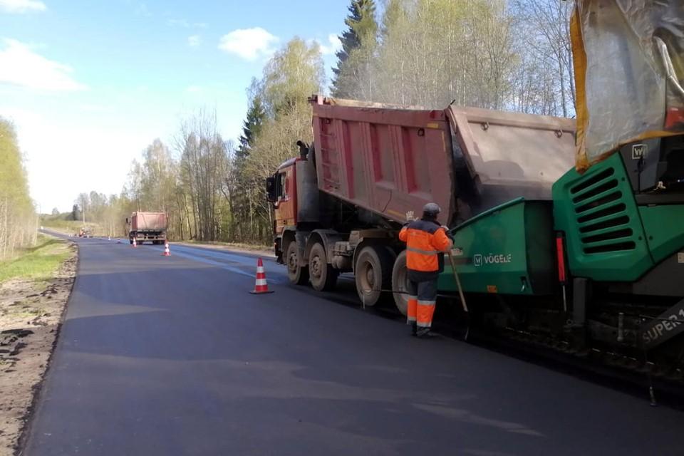 Всего регионе по нацпроекту в этом году планируется отремонтировать 259 км дорог. Фото: ПТО