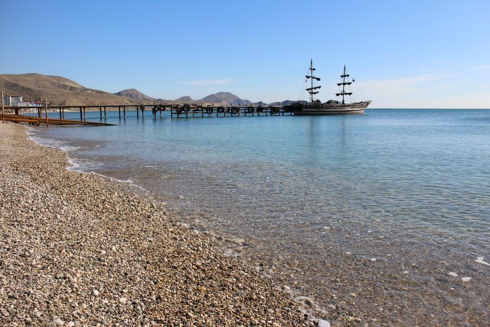 Температура воды в Черном море +17°…+19°