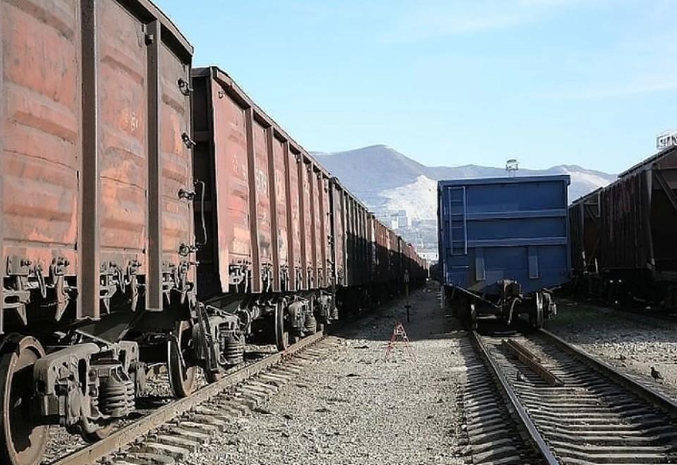 Весной в Перми сошли с рельсов 9 грузовых вагонов.