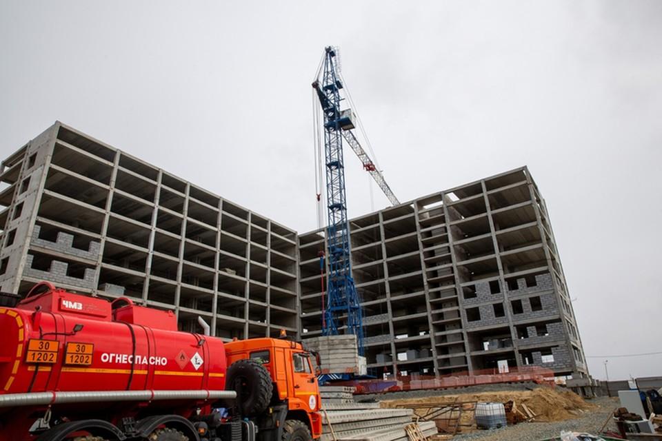 Фото: администрация Салехарда. Основной объем жилья будет вводиться в 2022 году.