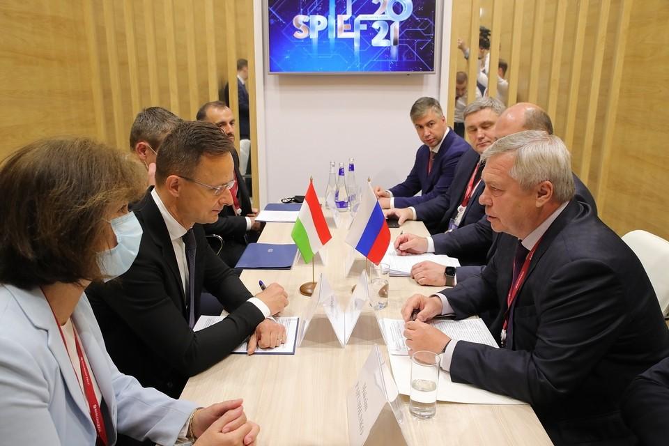 Ростовская область подписала соглашение о сотрудничестве с Венгрией. Фото: правительство РО
