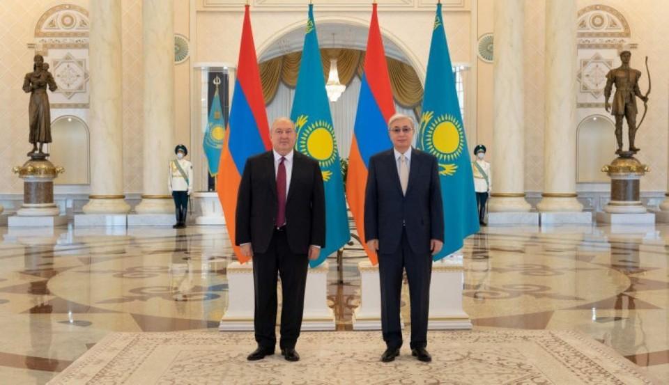 Касым-Жомарт Токаев и Армен Саркисян