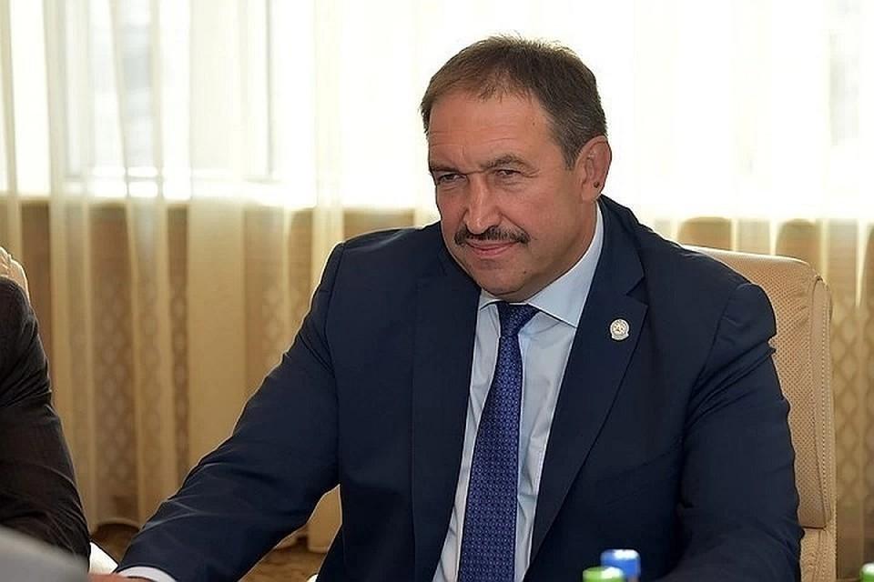 На форуме Песошин возглавляет делегацию от Татарстана. Фото: правительство РТ