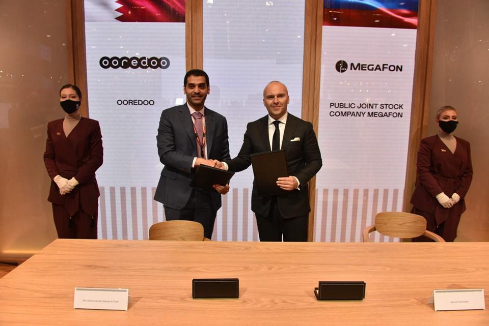 Меморандум подписан при содействии Qatar-Russia Investment and Trade Advisory. Фото: Пресс-служба МегаФон