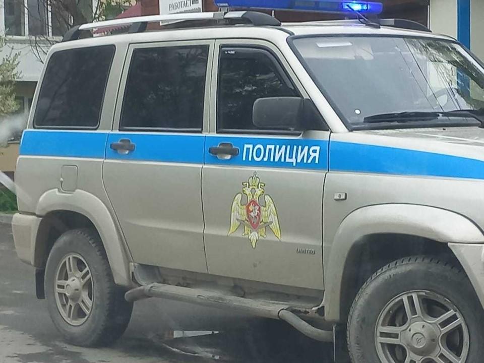 Авария произошла на улице Долинской