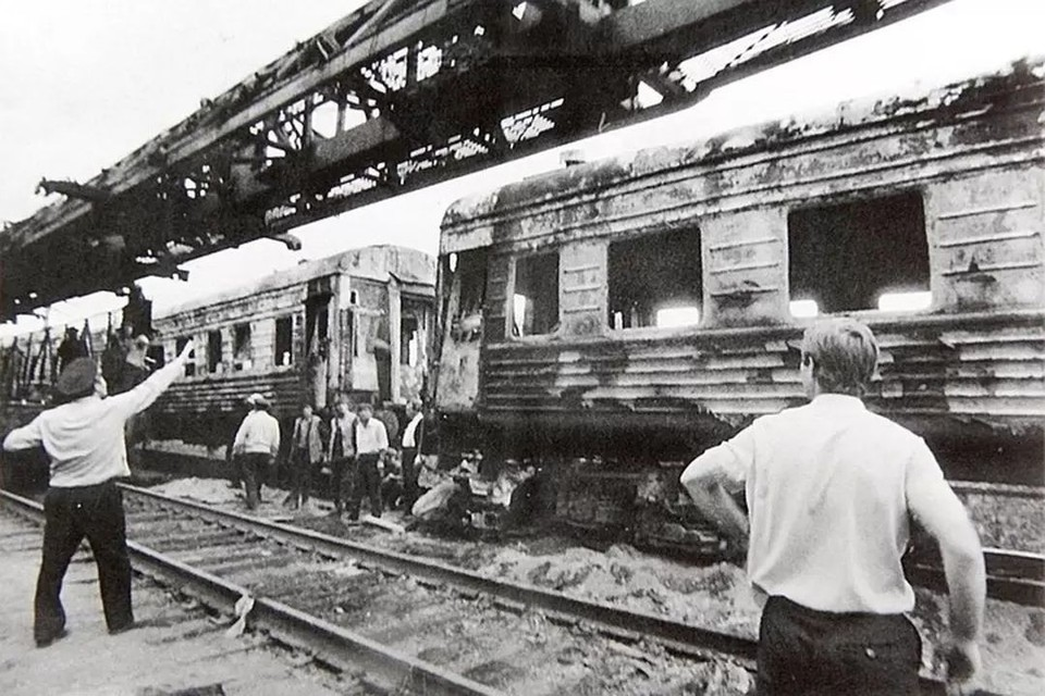 Взрыв произошел в ночь с 3 на 4 июня. Фото: архив Юрия Вишни