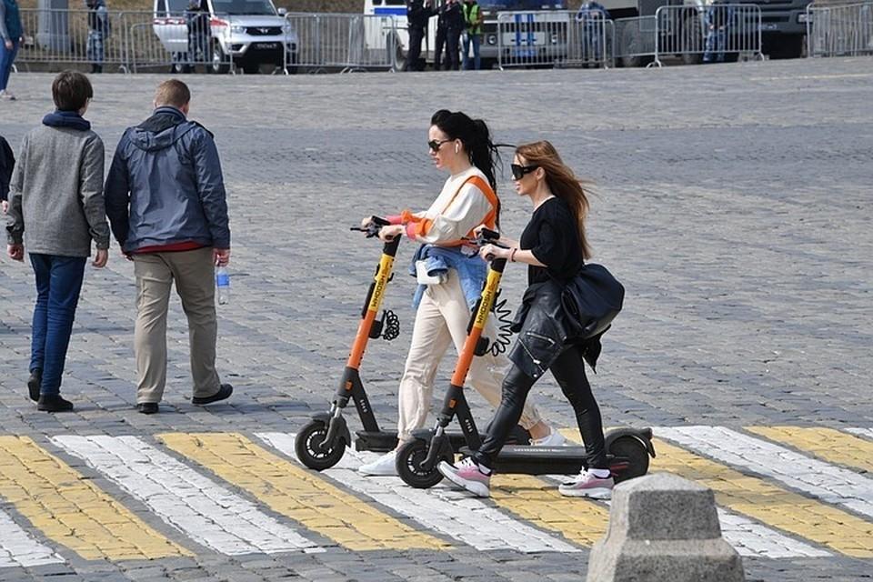 В Самаре хотят ограничить скорость движения самокатов
