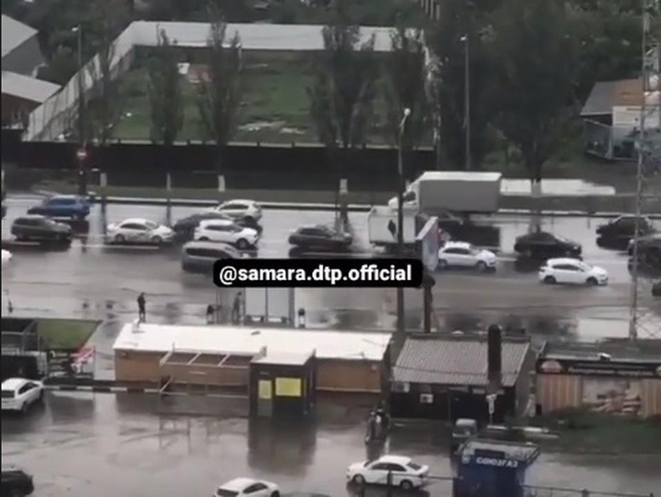 На Московском шоссе серьезные проблемы