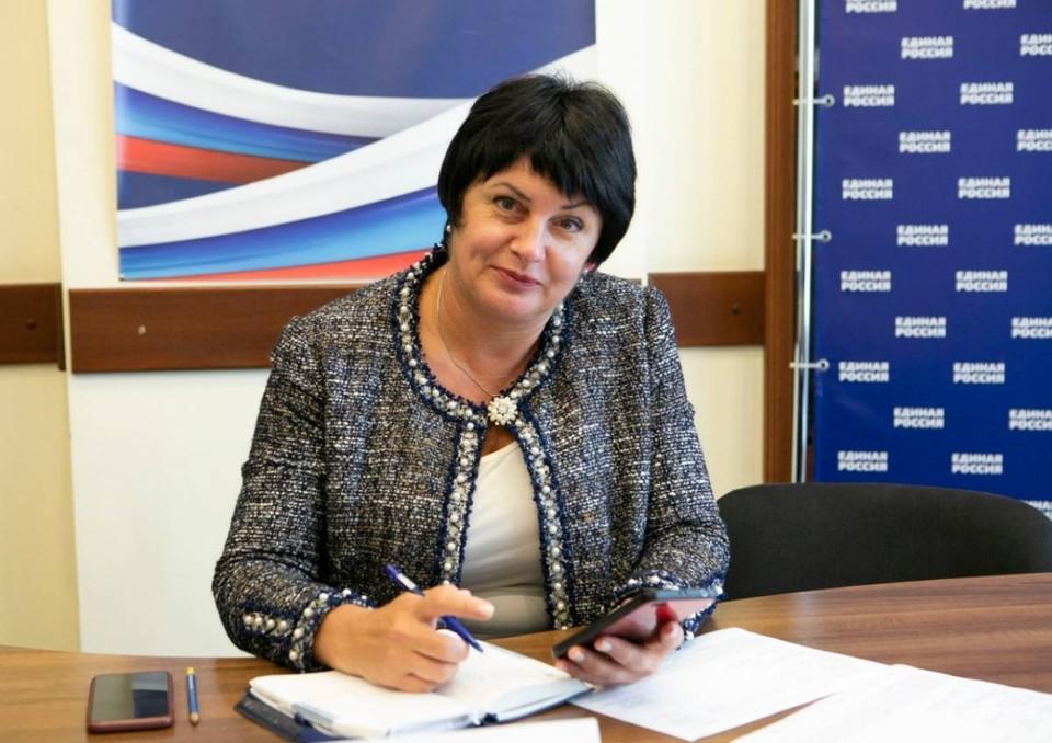 Вице-спикер Законодательного собрания Севастополя Татьяна Лобач