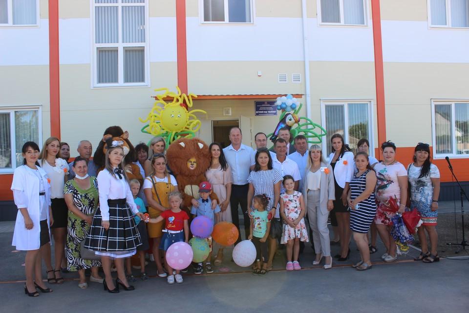 Новый модульный детский сад в селе Вересаево Сакского района