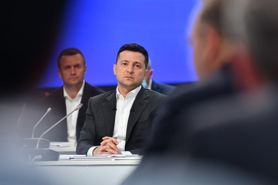 Зеленский ввел в действие решение СНБО. Фото: president.gov.ua