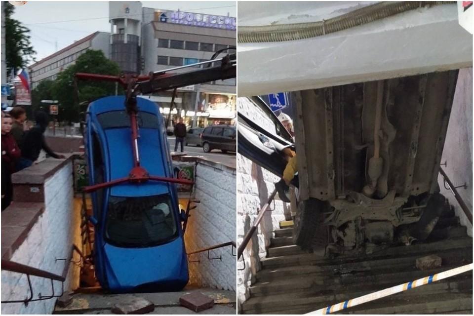 Авария произошла ночью. Фото: AMS Simferopol, Автопартнер Крым Севастополь ДТП/VK, chp_simferopol/ Instagram.com