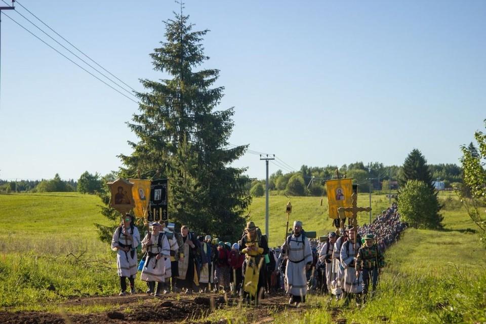 За сутки верующие пройдут 26 километров. Фото: vk.com/public105557620
