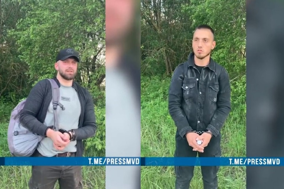 Брестчан задержали за участие в августовских протестах. Фото: стоп-кадр   видео МВД