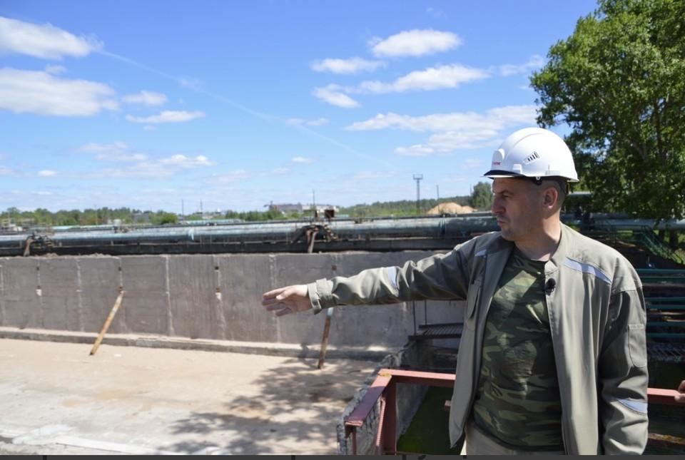 Ремонт очистных сооружений в Твери ведётся с 2019 года. Фото: администрация Твери