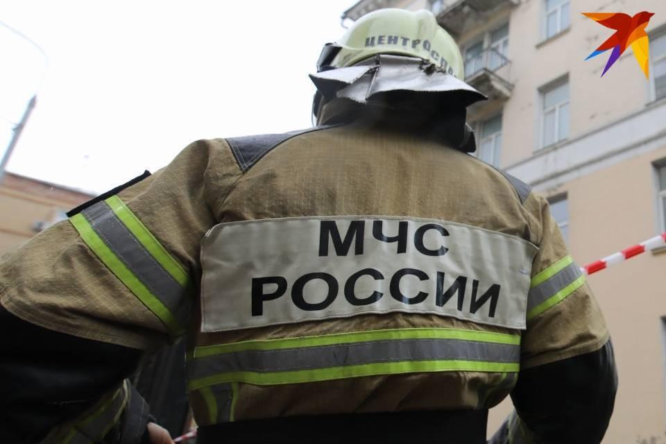 С пожаром на мусоросжигательном заводе боролись 17 человек.