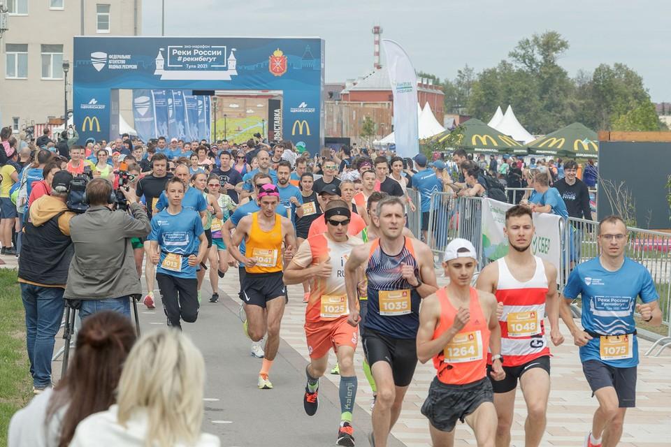 В Туле прошел спортивный праздник в честь Дня эколога