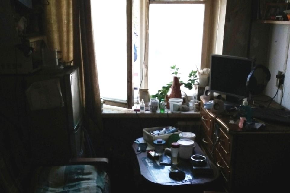 Квартира задержанного