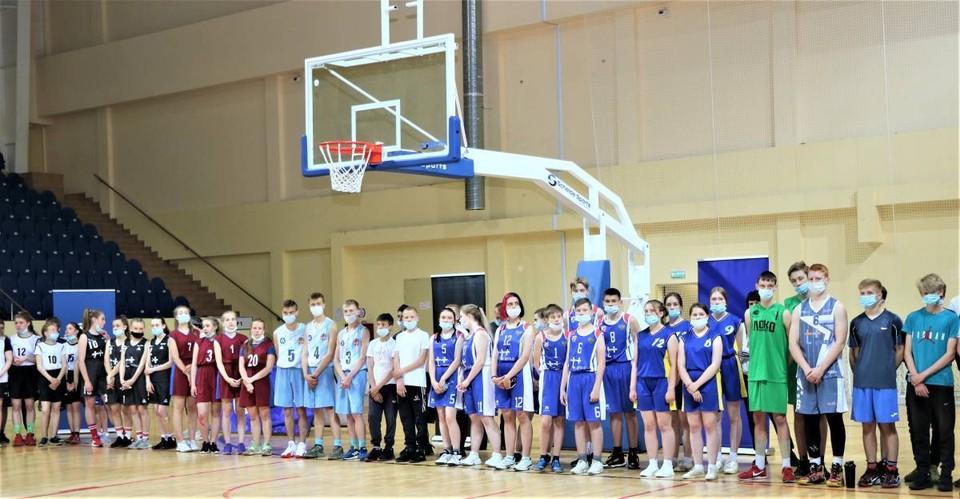 Юные баскетболисты Смоленщины встретились в финале. Фото: Андрей Смирнов.