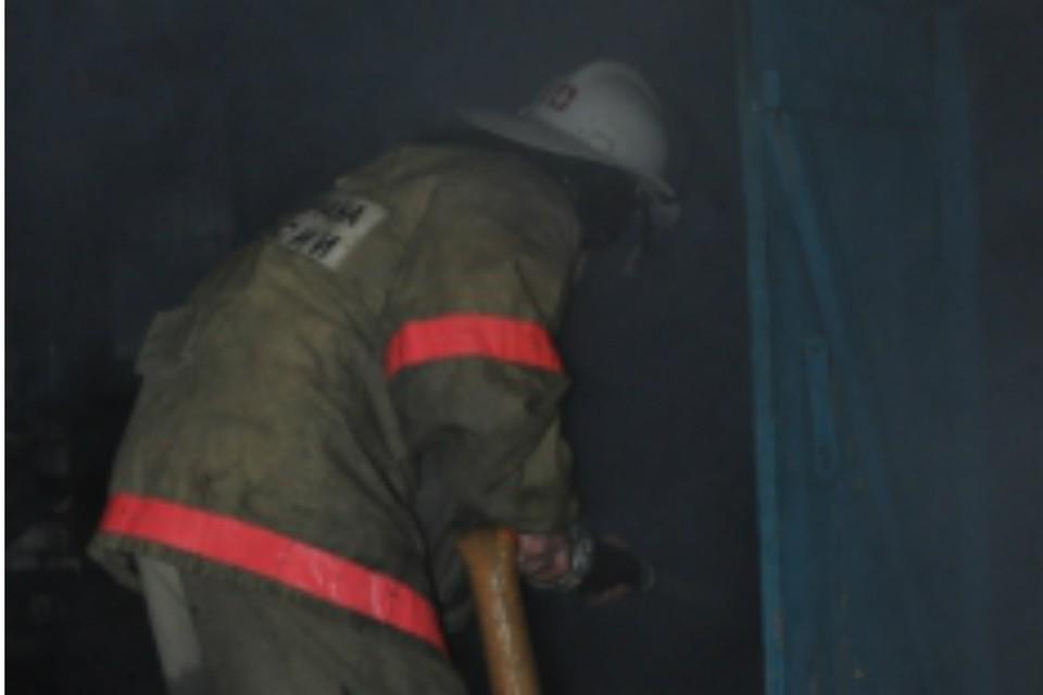 В Ростовской области сгорел рынок