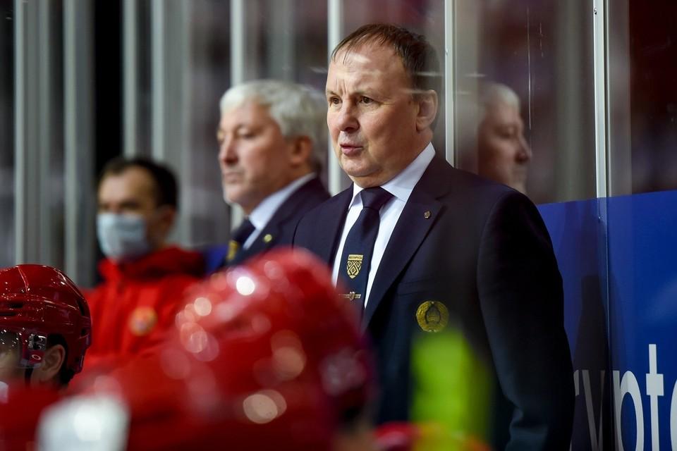 Михаил Захаров уволен с поста главного тренера сборной Беларуси по хоккею. Фото: hockey.by