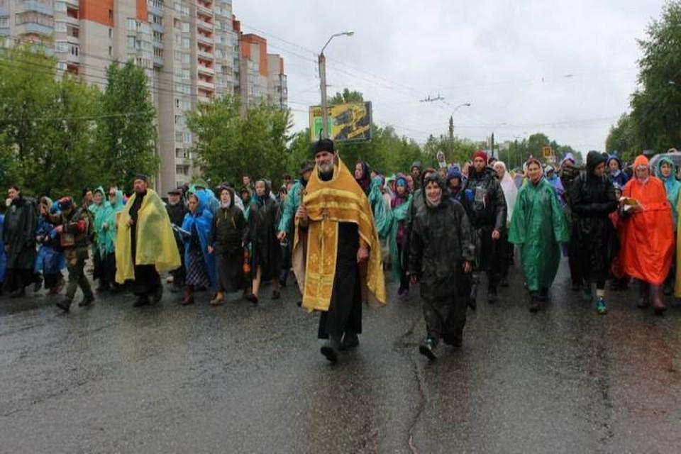 Из-за пешей колонны верующих автомобильное движение на многих улицах Кирова перекроют с раннего утра. Фото: admkirov.ru