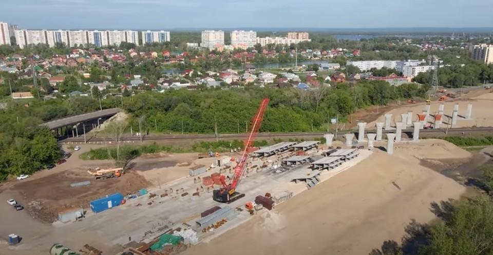 До конца года около Фрунзенского моста появится новый путепровод через железную дорогу. Фот - скриншот